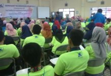 Suasana Workshop di kampus Unirow Tuban. (Musyafa')