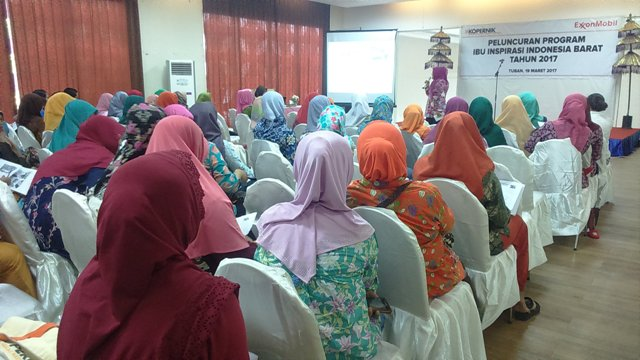 Suasana peluncuran program ibu inspirasi. (Musyafa')