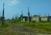 Kondisi bangunan mangkrak pasar baru II Tuban. (Musyafa')