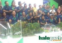 Foto bersama dengan 25 peserta yang lolos selesi. (rohman)