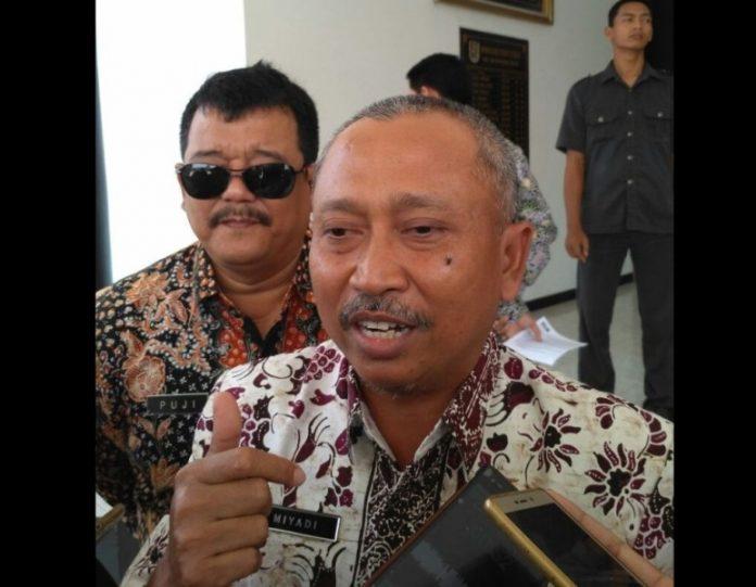 Ketua DPRD Tuban, H. Miyadi. (rohman)