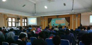 Suasana seminar Nasional tentang bahaya Narkoba.