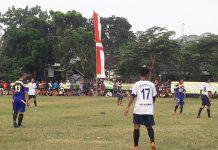Laga final kompetisi Muspika Palang Cup. (Musyafa')