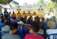 Solid : Suasana pengukuhan pengurus Pimpinan Anak Cabang (PAC) Kecamatan Soko. (Musyafa')