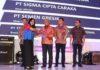 Pemberian penghargaan atas prestasi di Jakarta. (Musyafa')