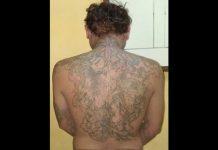 Tubuh Ani Yulianto penuh dengan tato. (Musyafa')