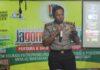 Kapolres Tuban, AKBP Fadly Samad, ketika acara di Rest area Tuban. (Atmo)